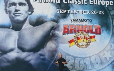 Le formidable succès à la compétition Arnold Classic Europe.
